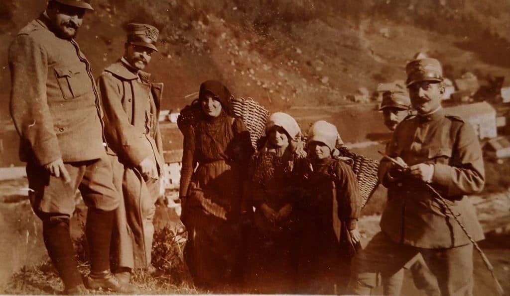 Storie e racconti della Grande guerra sulla Fortezza Col Badin di Chiusaforte